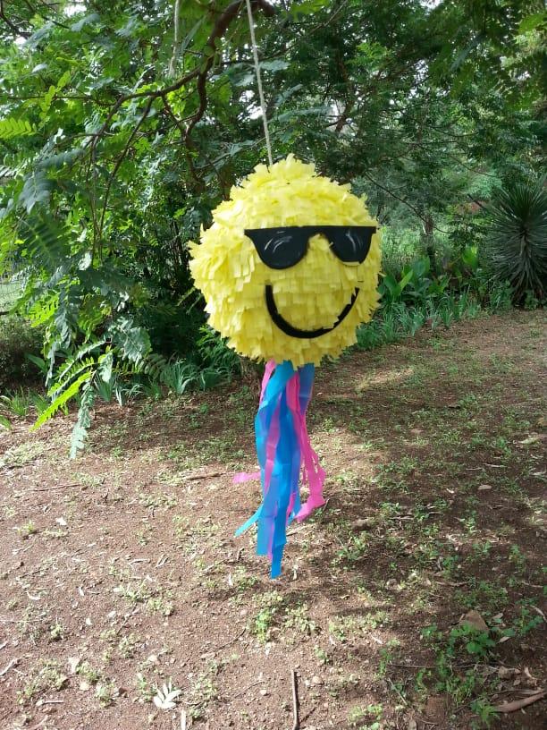 cool emoji piñata