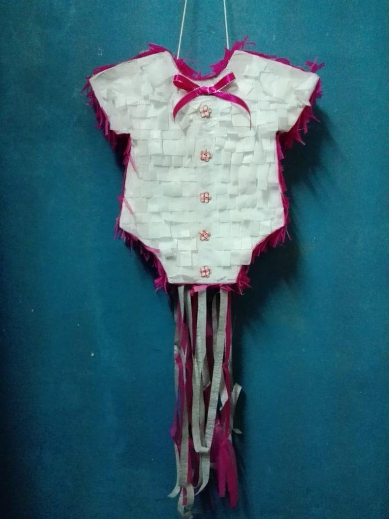 pink baby vest pinata