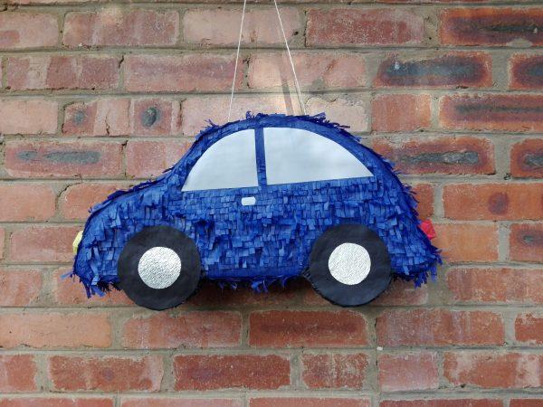 Blue car pinata